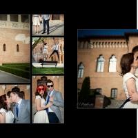 Sedință foto de logodnă la palatul Mogoșoaia