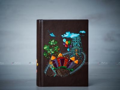 Album foto unicat – copertă pictată manual 4